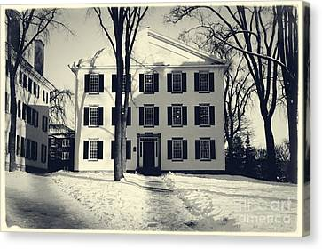 Thornton Hall Dartmouth College Canvas Print by Edward Fielding