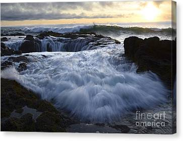 Thors Well 2 Canvas Print