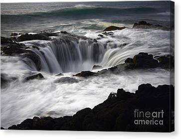 Thors Well Canvas Print