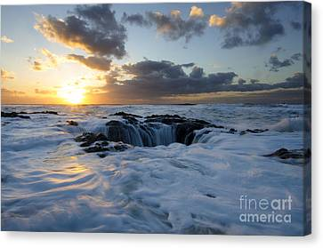 Thors Well Oregon Truly A Place Of Magic 3 Canvas Print