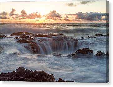 Thor's Well Canvas Print by Patricia Davidson