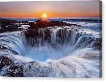 Thors' Well Canvas Print