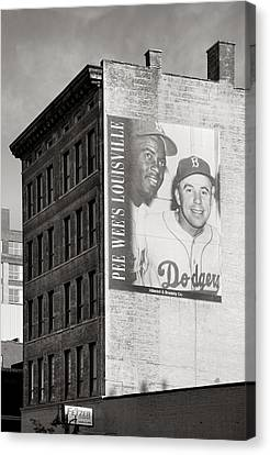 Brooklyn Dodgers Canvas Print - Those Were The Days by Steven Ainsworth
