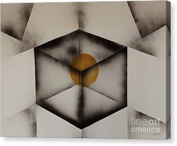 Thoughts Outside The Box. Canvas Print by Kenneth Clarke