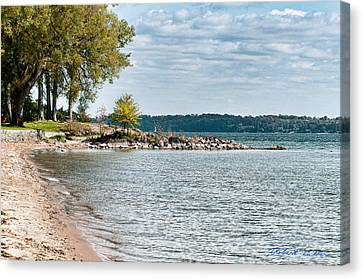 Canvas Print featuring the photograph Thousand Islands by Robert Culver
