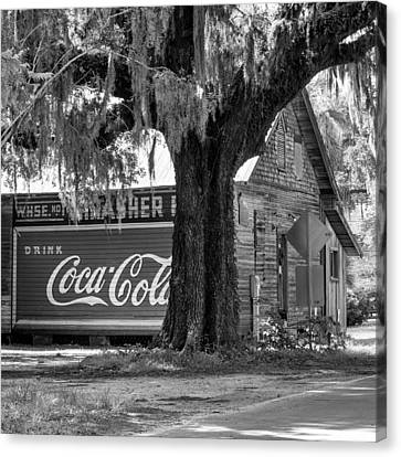 Thrasher Warehouse No. 1 Canvas Print by Lynn Palmer