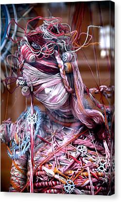 Thread Bare Canvas Print by Jez C Self