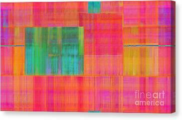 Threaded Silk Weave Canvas Print by CR Leyland