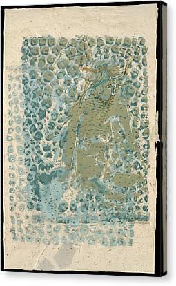 Threaded Woman Canvas Print