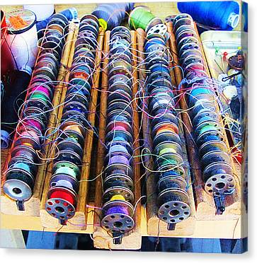 Threads I Canvas Print by John King