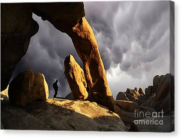 Thelightscene Canvas Print - Threatening Skies by Bob Christopher