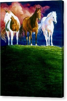 Three Amigos Canvas Print by Hanne Lore Koehler