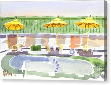 Three Amigos II Canvas Print by Kip DeVore