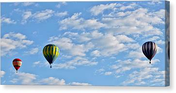 Three Beautiful Balloons In Cortez Canvas Print