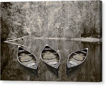 Benton Canvas Print - Three by Debra and Dave Vanderlaan