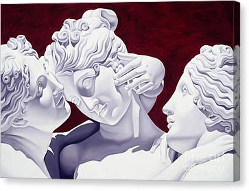 Zeus Canvas Print - Three Graces by Catherine Abel