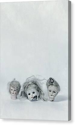 Three Heads Canvas Print by Joana Kruse