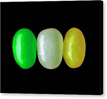 Three Jelly Beans Canvas Print