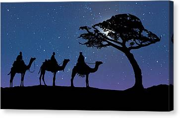 Three Kings Canvas Print by IM Spadecaller