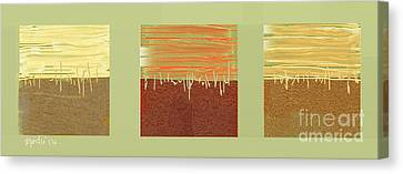 Three Squares Canvas Print by Nedunseralathan R