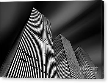 Three Towers Canvas Print