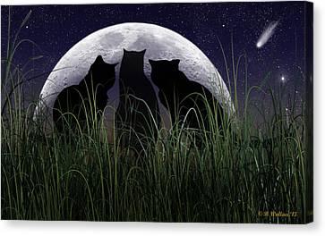 Threefold Canvas Print by Brian Wallace