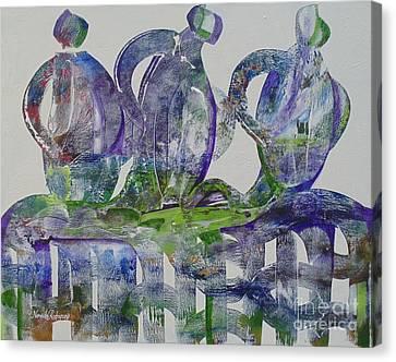 Threefold Cord Canvas Print
