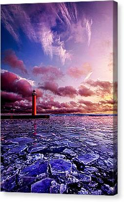Threshold Canvas Print by Phil Koch