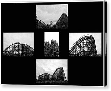 Thrill Ride Canvas Print by Bill Cannon