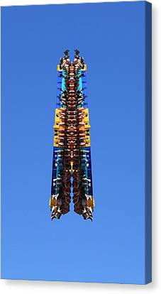 Thrill Ride Canvas Print by Dan Sproul