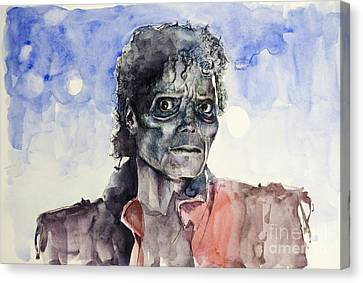 Thriller 2 Canvas Print by Bekim Art