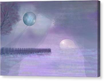 Through Gossamer Canvas Print by Peri Craig