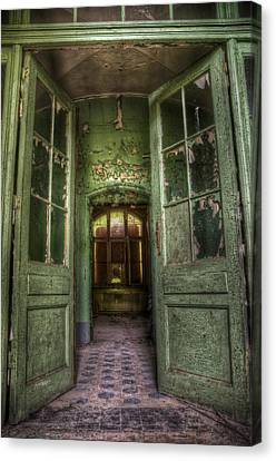Through Grand Doors Canvas Print