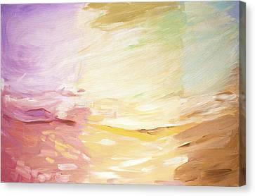 Through Many Eyes Canvas Print by Tanya Byrd