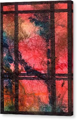 Through My Window 21 Canvas Print