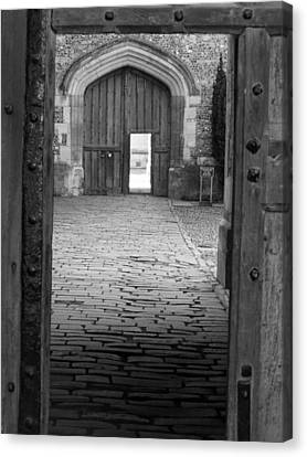 Canvas Print featuring the photograph Through The Door by Meaghan Troup
