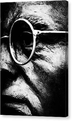 Through The Eyes Canvas Print