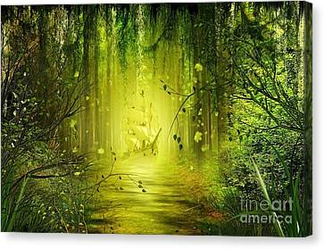 Through The Jungle Canvas Print by Svetlana Sewell