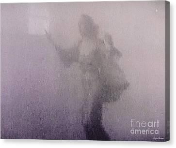 Through The Mist Canvas Print by Lyric Lucas