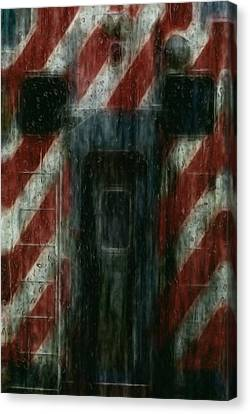 Through The Window On A Rainy Day In May Canvas Print by Jack Zulli