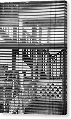 Canvas Print featuring the photograph Through The Window by Susan D Moody