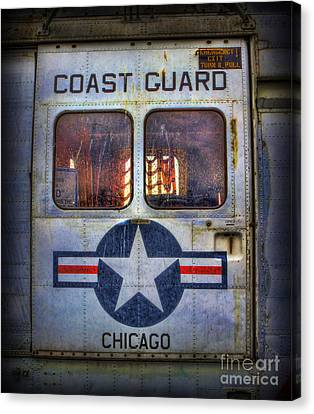 Through These Doors Dive Heroes  Canvas Print by Lee Dos Santos