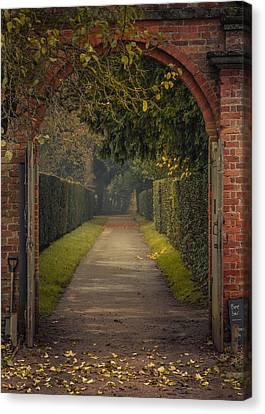 Through To The Autumn Gardens Canvas Print by Chris Fletcher