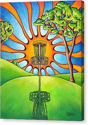 Throw Into The Light Canvas Print