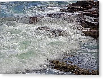 Canvas Print featuring the photograph Thunder And Lace by Lynda Lehmann