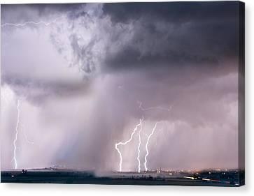Thunder And Light Canvas Print