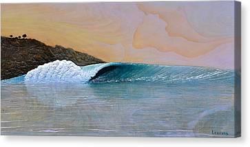 Thunder At The Break Of Dawn Canvas Print by Nathan Ledyard