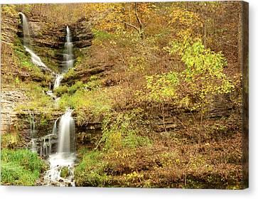 Thunder Falls Canvas Print