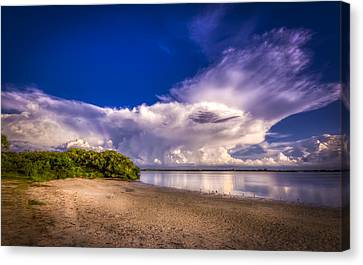 Thunder Head Coming Canvas Print by Marvin Spates