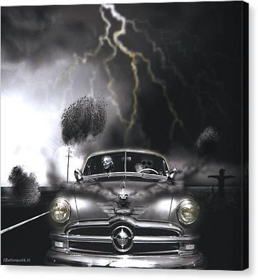 Thunder Road Canvas Print